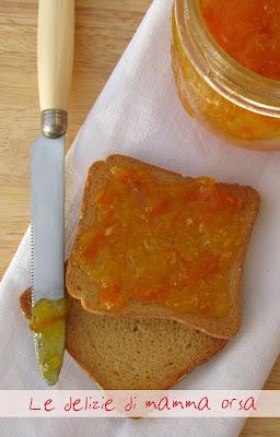 marmellata di arance..bionde