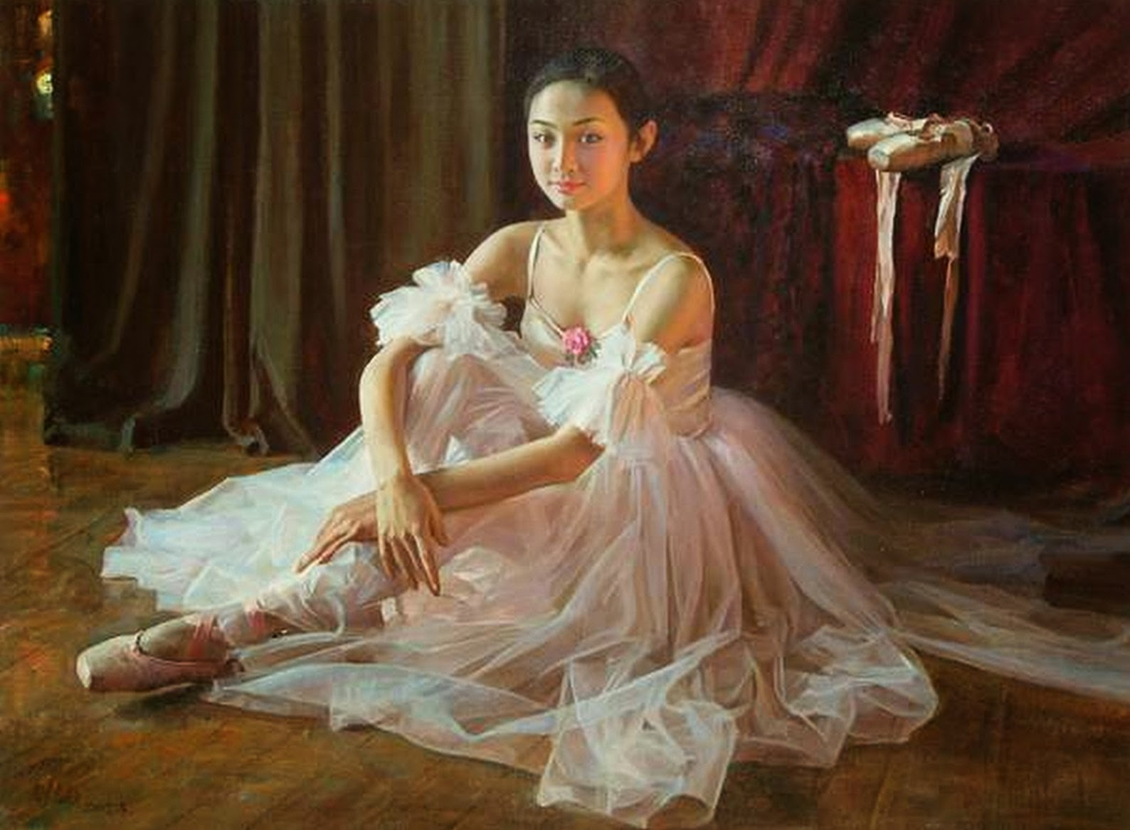 pinturas-de-mujeres-bailarinas-de-balet