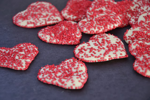 Valentine Chocolate Hearts