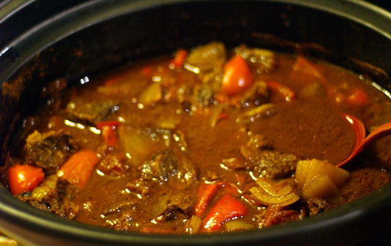 Kött i crock pot