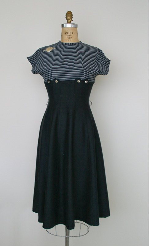 50's style empire dress