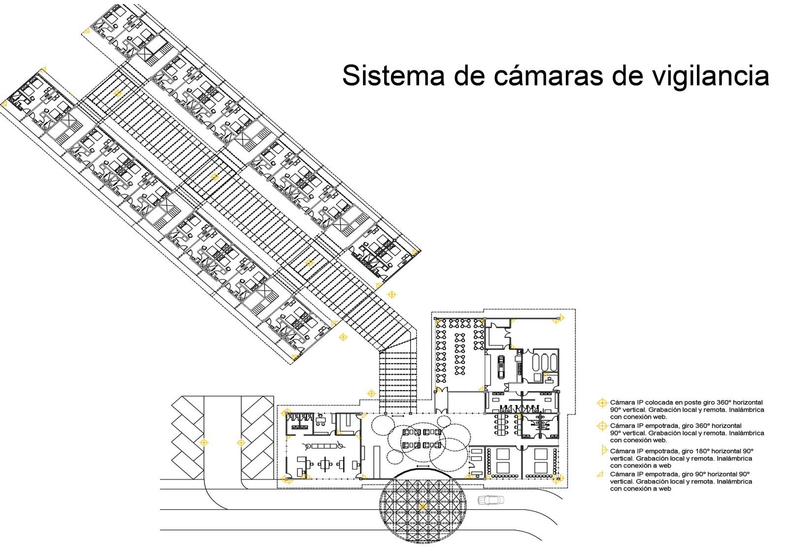 Instalaciones dos planos generales entrega instalaciones ii for Plano de cocina hotel 5 estrellas