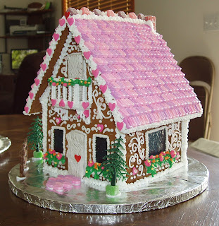Gingerbread Swiss Chalet by Lynne Schuyler