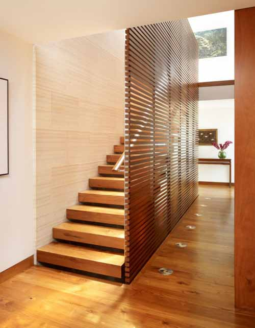 Interior design wood staircase from korea for Interior stairs designs