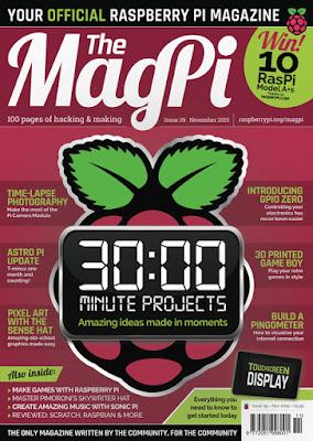 The MagPi 39ª Edição