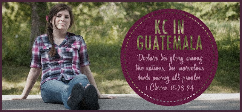 KC in Guatemala