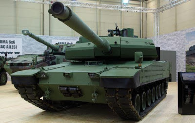 Tank tempur utama Altay Turki