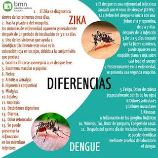 Zika y dengue, dos flagelos sanitarios