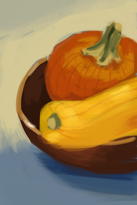 Squash painting