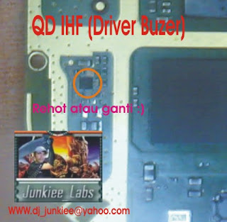 Solusi Perbaikan Nokia N Gage QD IHF-Driver buzer