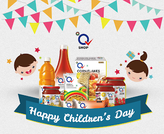 Sahara Q Shop Wishes Happy Children's Day