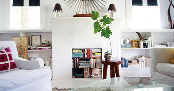 C mo decorar la chimenea sin uso ideas para decorar for Como disenar tu casa