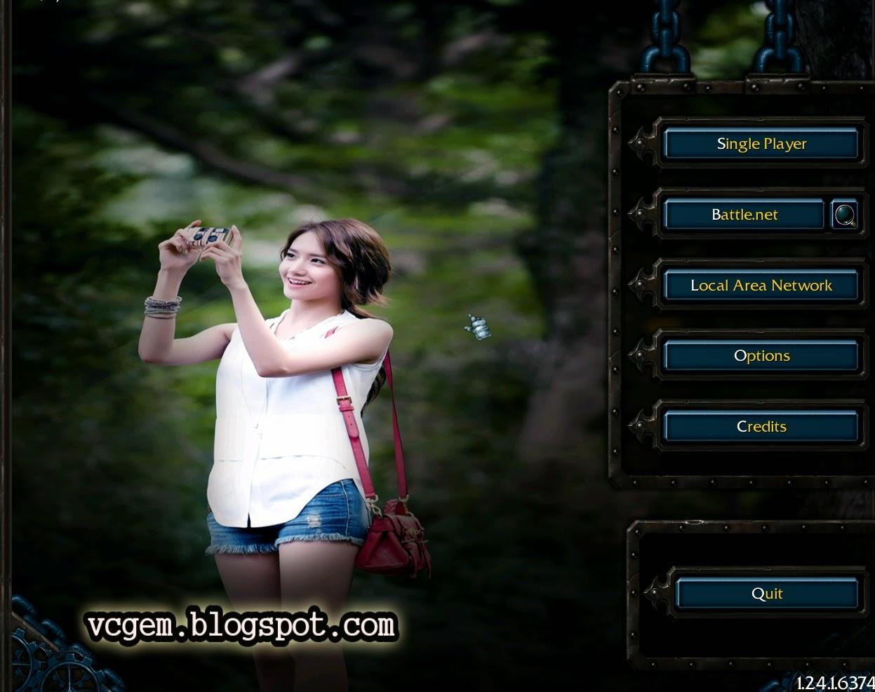 caranya agar background dota diganti dengan foto sendiri