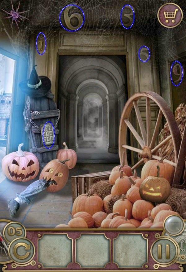 Escape The Mansion Halloween Level 1 2 3 4 5