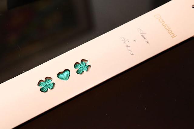 packaging braccialetti cruciani amore e fortuna