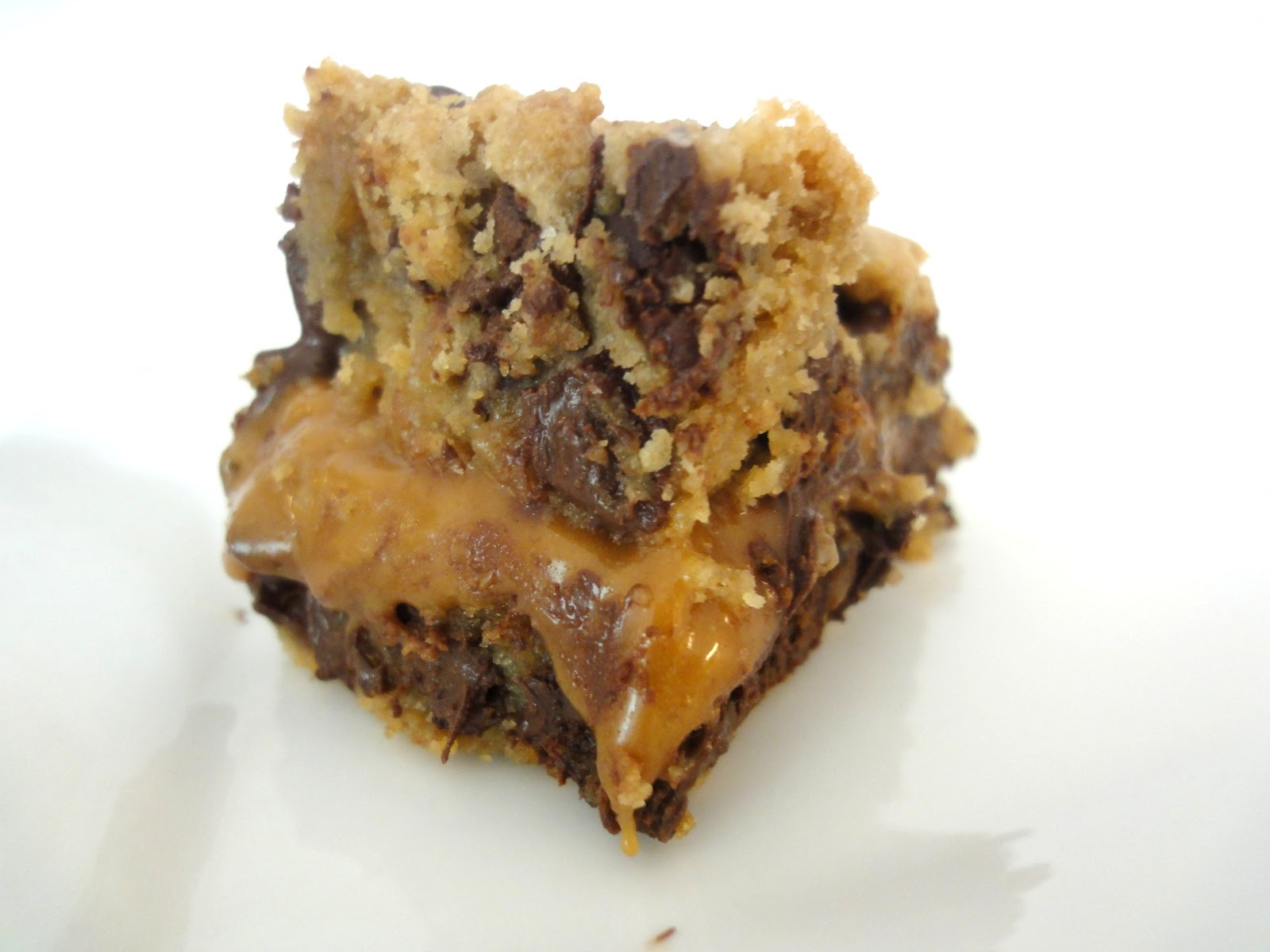 caramel cookie bars cookie bar recipe two salted caramel chocolate ...
