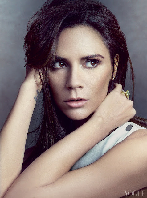 Victoria Beckham no make-up