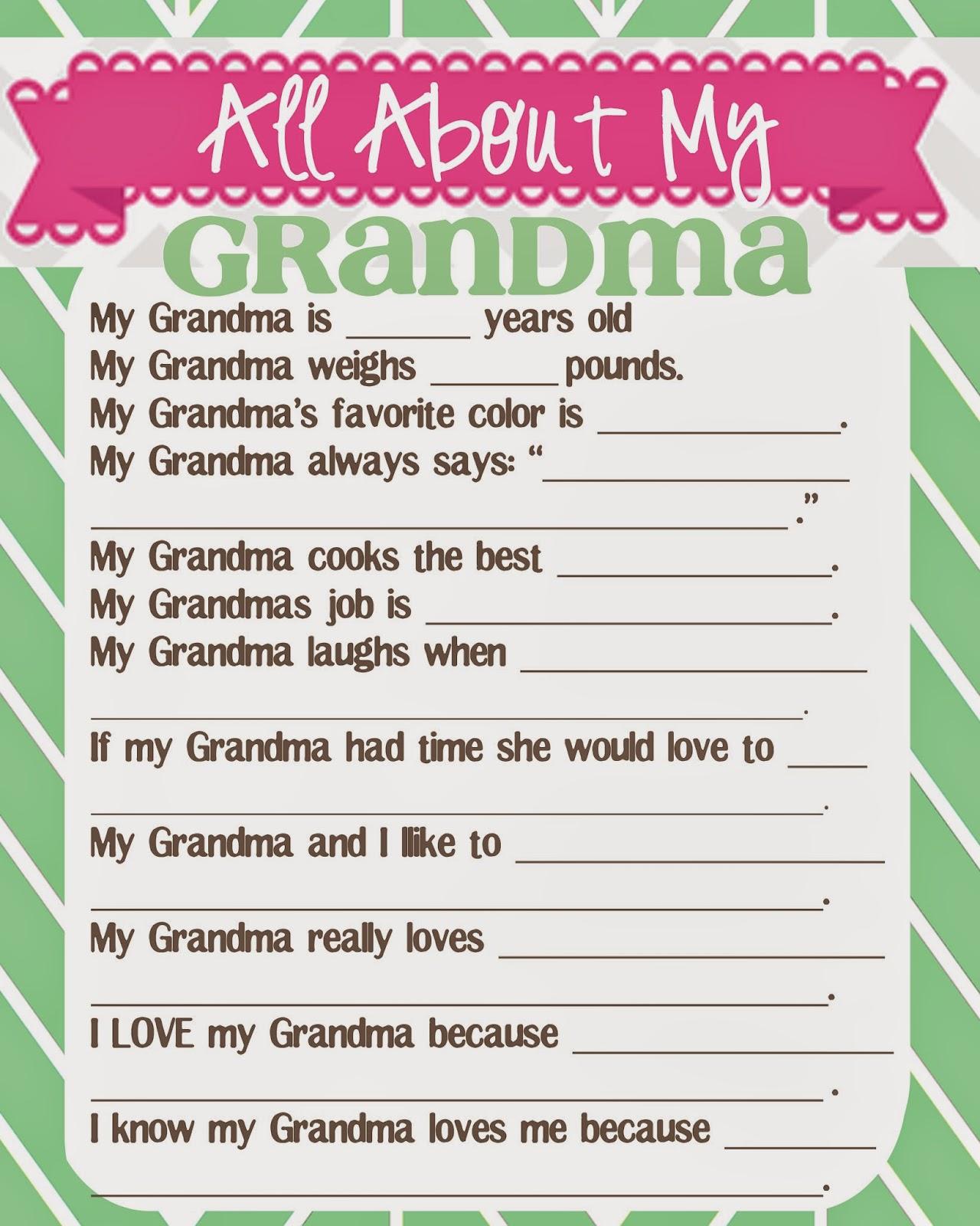 how to say grandma in german