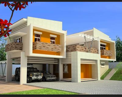 Cat Exterior Rumah Minimalis Modern