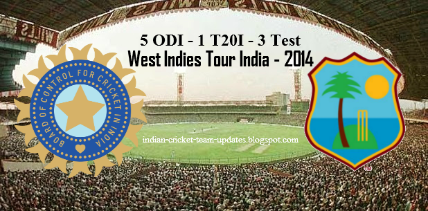 West-Indies-Tour-India-2014-Schedule