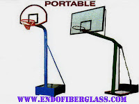 Ring Basket dan Papan Pantul Basket Ball