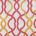 Fun Fabric: Orange and Pink