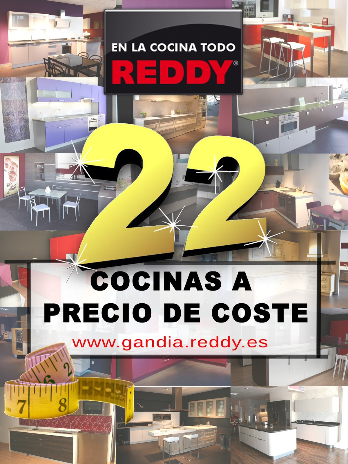 Chef cocinas gandia valencia renovacion completa de for Muebles de cocina y precios