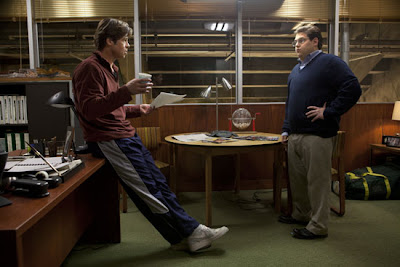 Brad Pitt and Jonah Hill stars in Moneyball, movie, great together
