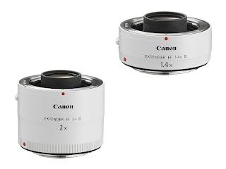 Canon Teleconverters 1.4x III and 2x III