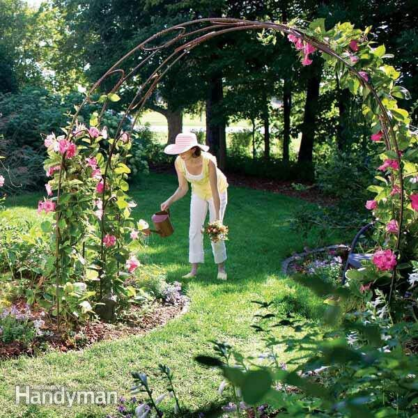 Mariondee designs garden arch inspiration for my new for Garden archway designs