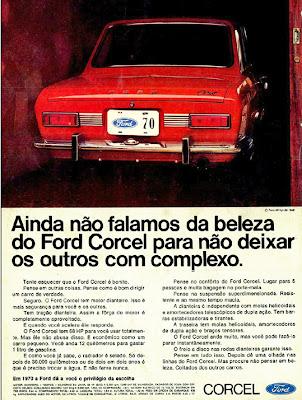 1970. propaganda carros anos 70.história década de 70; Brazilian advertising cars in the 70s, propaganda anos 70; reclame década de 70. Oswaldo Hernandez;
