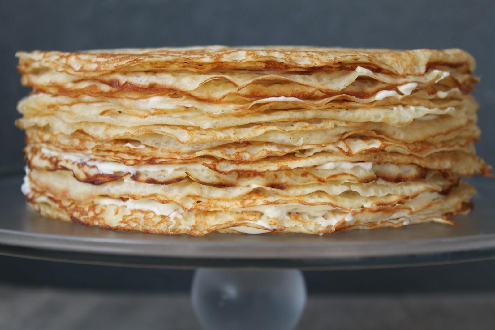 Cake Bacon Feta