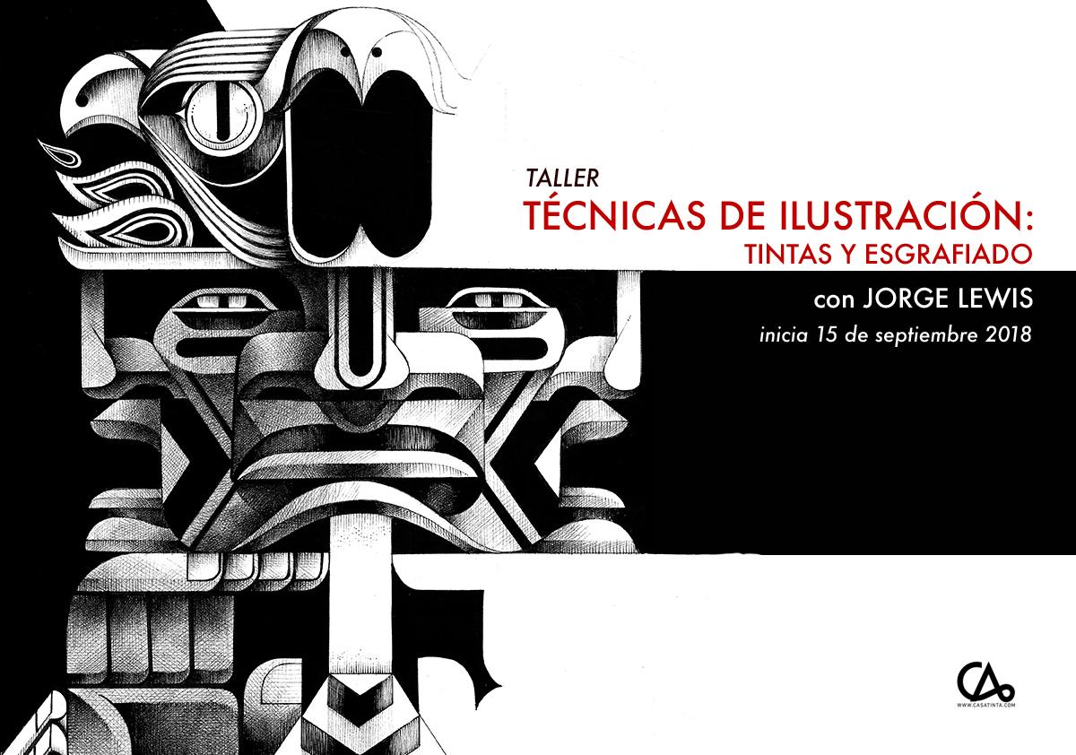 TINTAS Y ESGRAFIADO // 15 de sept
