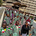 Exclusive Pictures From Workers Protest At Federal Palace Hotel, Lagos