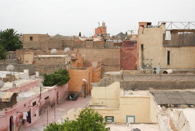 Vue Souk Marrakech