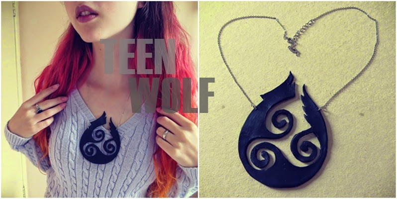 D.I.Y. Colar Teen Wolf | Teen Wolf Necklace