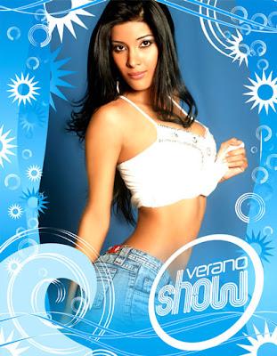 Liza Fernandez mi sueño es hacer un video con Wisin