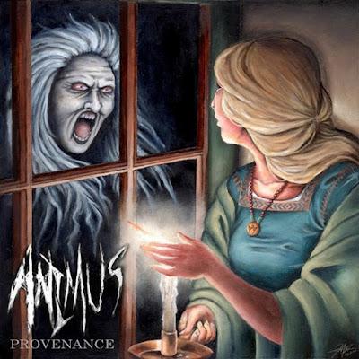 Free Download Progressive Death Metal Album: Provenance - Animus (2015), Provenance Animus