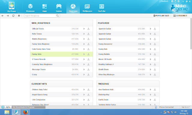 Mobogenie perfect PC app manager