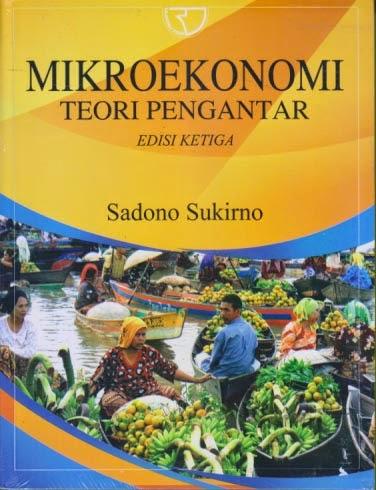 toko buku rahma: buku MIKRO EKONOMI TEORI PENGANTAR, pengarang sadono sukirno, penerbit rajawali pers
