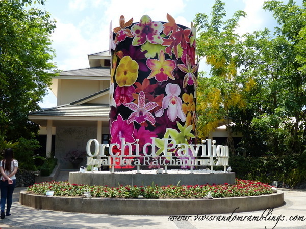 the Orchid Pavillion at Royal Flora Ratchaphruek Chiang Mai