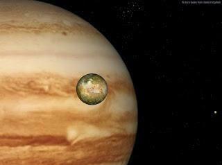 Peristiwa Langka, Kesejajaran Tiga Bulan Jupiter