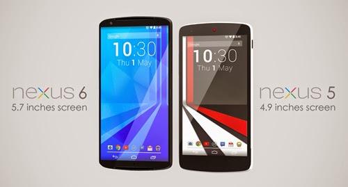 Nexus 6 Tak perlu takut lagi layar kekecilan