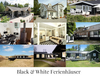 Black &amp; White Ferienhuser in Dnemark