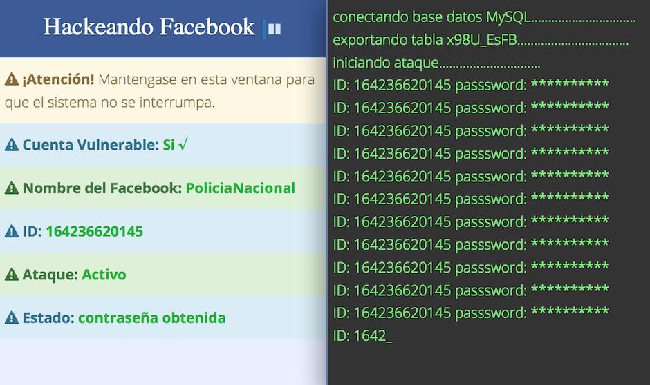 Resultado de imagen para atacan hackers facebook