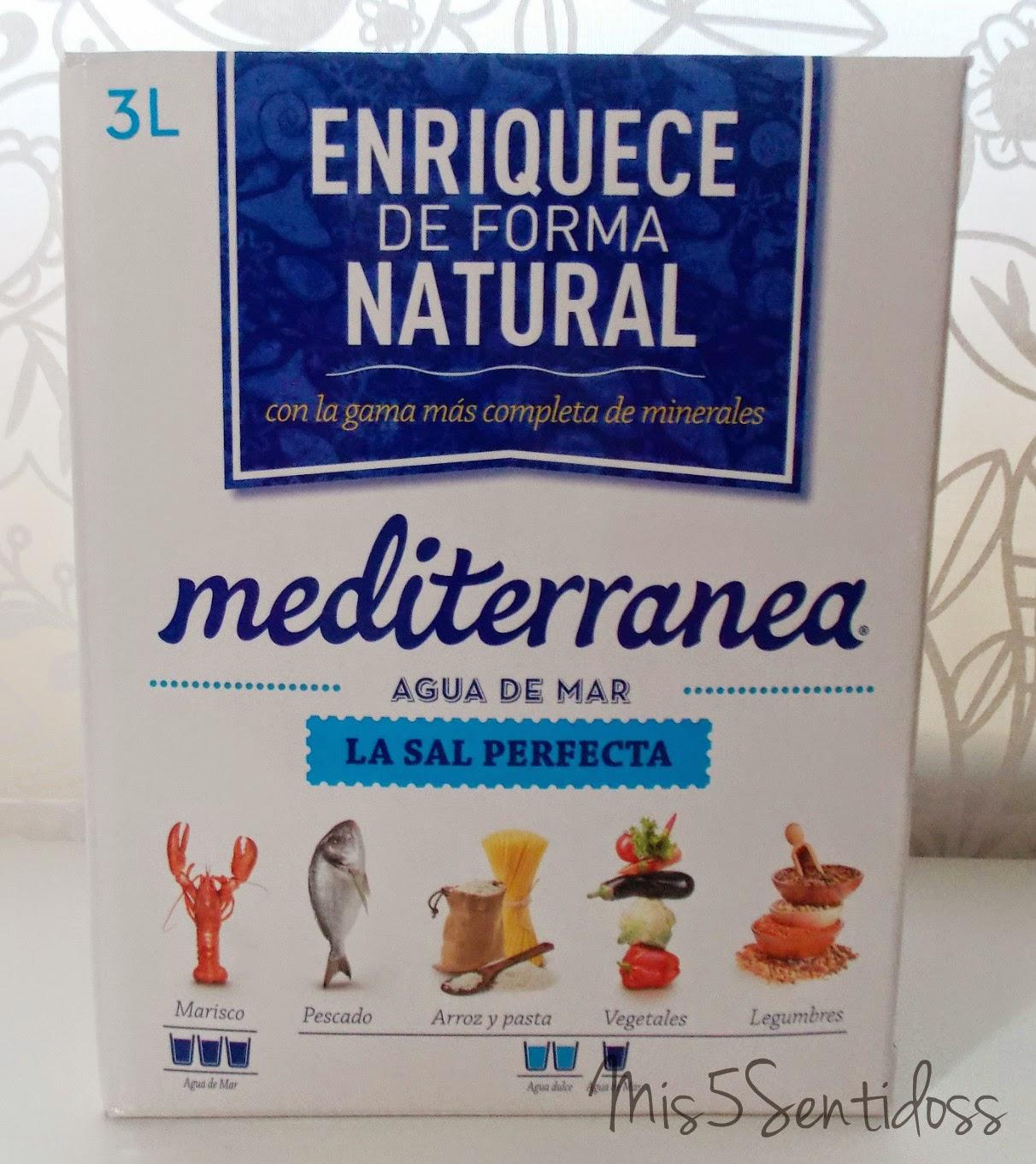 Degustabox Mediterránea Agua de Mar
