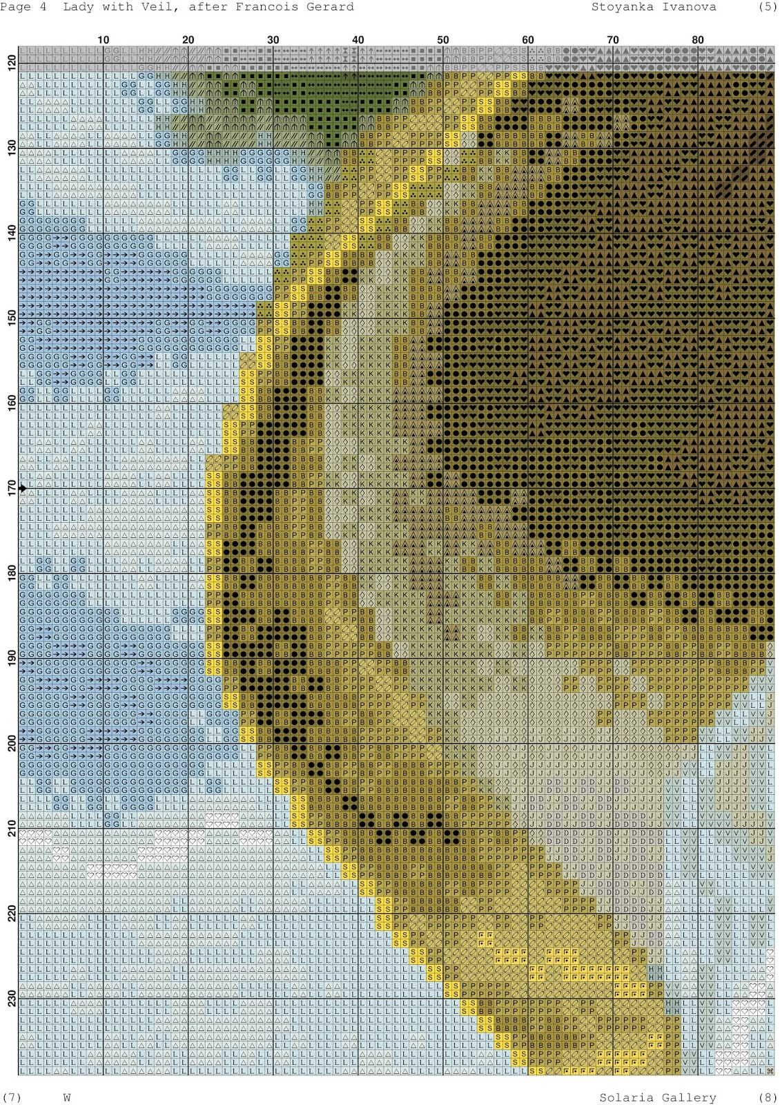 Схемы вышивки от solaria gallery