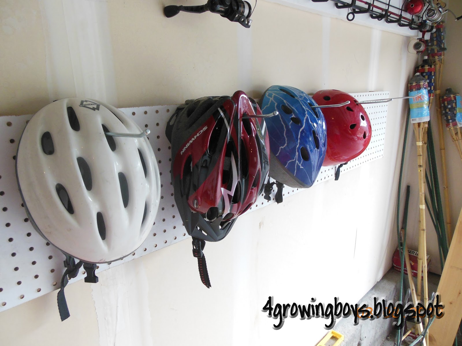 Bike Helmet Rack