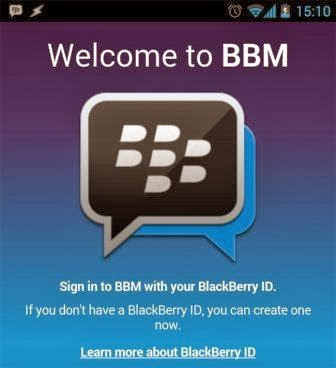 BBM for Android Download APK
