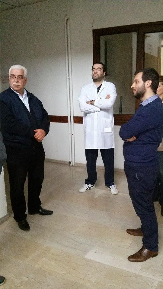 ΚΥΔΦ με τον τέως Υπουργό Υγείας κ. Αθανάσιο Γιαννόπουλο